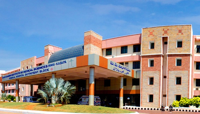 Rajiv Gandhi Institute of Medical Sciences, Kadapa