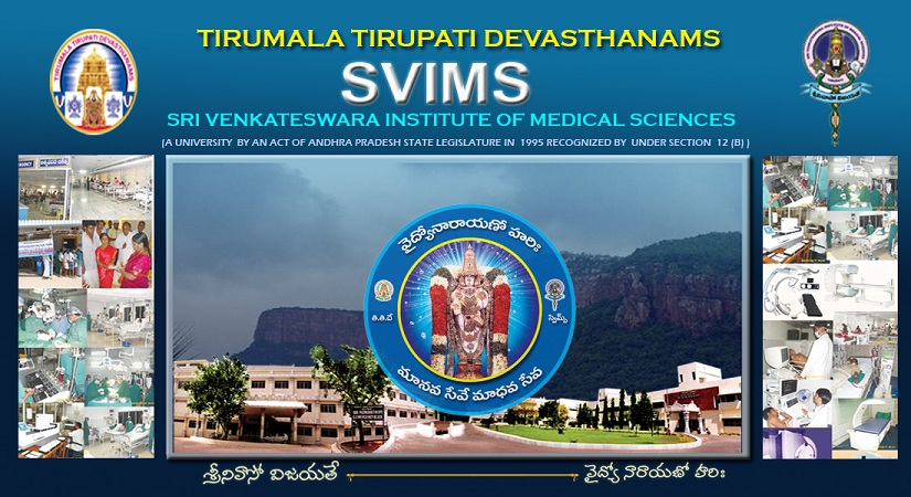 Sri Venkateswara Institute of Medical Sciences, Tirupati